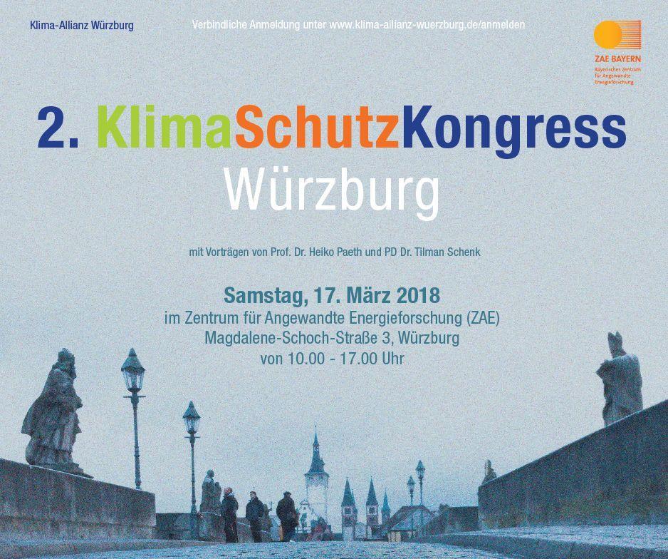 Klimaschutz-Kongress Würzburg